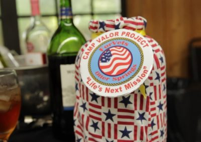 For vets donation jar