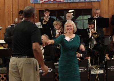 Lynn dancing